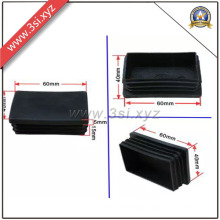 LDPE Plastic Rectangle End Tube Caps for Steel Pipe (YZF-H143)