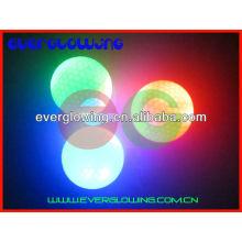 Rainbow LED balles de golf allumées vente chaude 2016