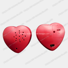Grabadora de voz en forma de corazón, collar de corazón grabable