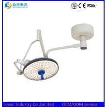 China Calificado un tipo de techo de cabeza LED sin sombras lámparas de funcionamiento