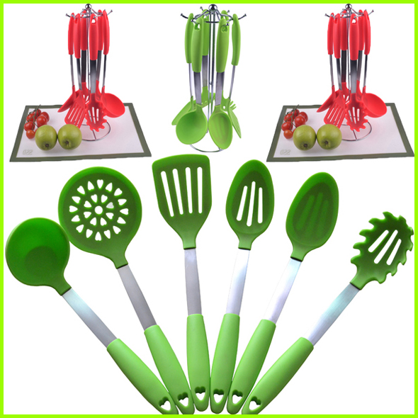 Silicone Spoon Set