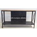 Industrial Metal Urban Loft Modern Sideboard