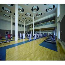 Ролл крытый ПВХ спортивный Пол /Пол баскетбола/Фиба мат сертификат деревянной поверхности