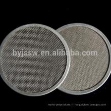 Filet de filtre en acier inoxydable de 10 microns (fabrication)