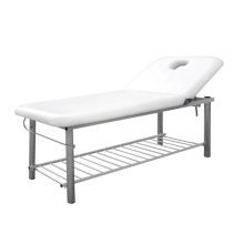 Facial Bed Wth Stainless Steel Bracket