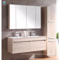 """32"""" Double Sink Bathroom Vanity Set Floating Bath Cabinet With mirror and shelf"""