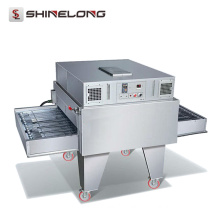 Guangzhou Commercial Stainless Steel Electric/Gas Conveyor Pizza Oven Price