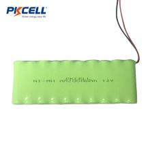 Embalagem da bateria recarregável do Ni-mh 2000mah 12v do tamanho do Aa para detectores de metais