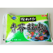 1kg de poudre de Wasabi/moutarde/raifort
