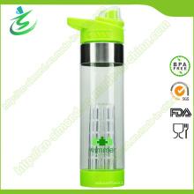 650ml Fruit Infuser Water Bottle BPA Gratuit Personnalisé