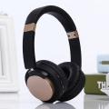 FM Receiver Metal Headband Headphones Bluetooth