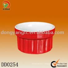 Factory direct wholesale round ceramic dish