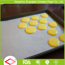 40g Custom Greaseproof Silicone Paper Cookie Sheet Liners for Baking