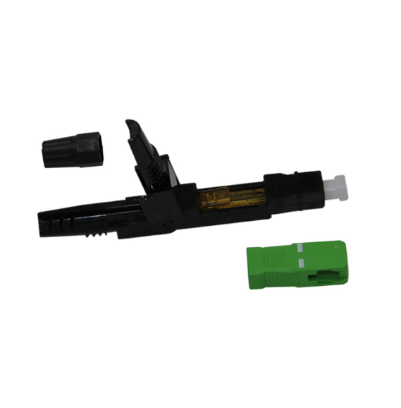 Sm Assembly Sc Apc Fiber Optic Fast Connector