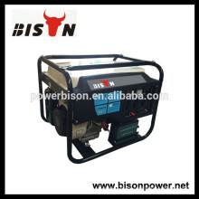BISON (CHINA) 5kva generador de la gasolina potable fácil para el uso de la señora de la casa