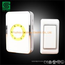AC 220V-250V Electric Wireless Doorbell Digital Door Bell Long Range