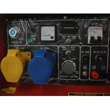 Grupo silencioso de generador de soldador diesel (5kw)