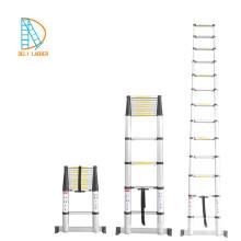 aluminium portable telescopic ladder with EN131-6 certificate