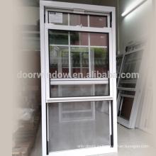 Американское двойное окно с раздвижными створками на алюминиевой раме