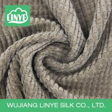 Tecido anti-estático de poliéster de poliéster 100% poli, tecido de cama, tecido chinelo