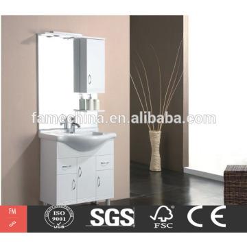 Vanity de canto da casa de banho moderna europeia de alta qualidade feita na China