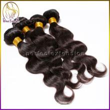 за рубежом принимаем заказ образца 100% человеческих волос перуанский объемная волна волос в Китае