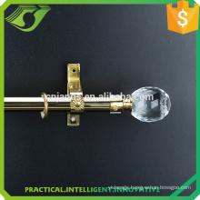 19mm curtain pole crystal curtain rod