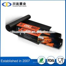 Heavy Duty PFOA Free FDA LFGB Сертифицированный многоразовый 100% антипригарный огнестойкий гриль для барбекю, сейф для посудомоечной машины