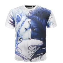 Sommer-Qualitäts-Qualitäts-T-Shirt 3D, Digital-Druck-T-Shirt