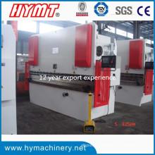 Machine à cintrer hydraulique de plaque d'acier Wc67y-125X3200 / machine de pliage hydrualic