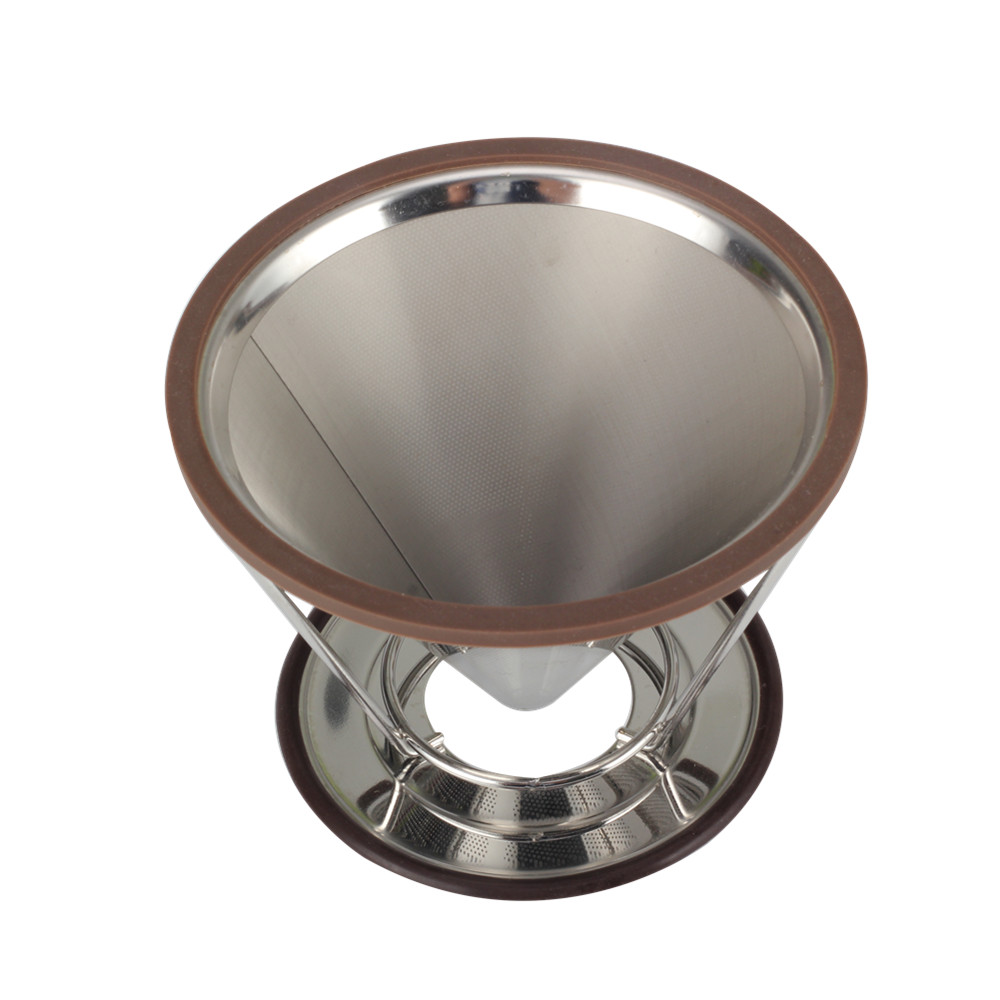Stainless Steel Coffee Filter Pour Over Coffee Dripper