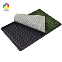 Pet Supplies for Pet Park Indoor Dog Potty Grass Mat Pee Pad Training