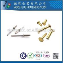 Taiwán acero inoxidable multi etapa remache 6 mm remache personalizado de cuero remaches