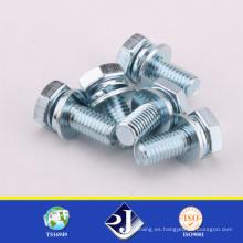 Venta al por mayor perno hexagonal estándar de DIN / ASME