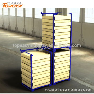 Powder coated heavy duty movable rack for warehouse