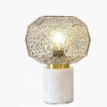 Lampe de table d'appoint blanche