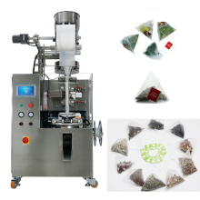 Automatic tea inner & outer bag packing machine