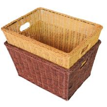 (BC-R1009) High Quality Handmade Natural Rattan Basket