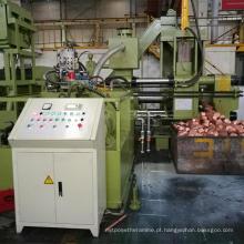 Máquina de moldagem de blocos bloqueadores horizontais de cobre