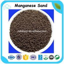 Areia de dióxido de manganês para tratamento de água