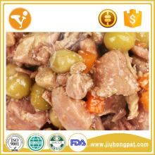 Fabricação de alimentos Orgânicos Dog Treats Sabor de carne Comida canina