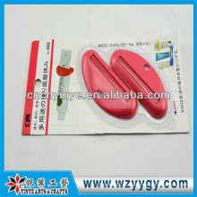 Популярные пользовательские пластиковая зубная паста соковыжималка устройство для продвижения