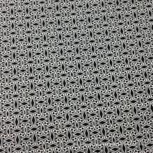 55% lino 45% algodón impreso ropa / tela del amortiguador