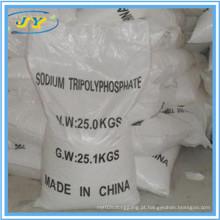 Produto comestível e tripolifosfato industrial do sódio da alta qualidade da categoria STPP da fabricação do produto comestível