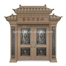 acier porte d'entrée conception porte principale villa porte acier porte peau