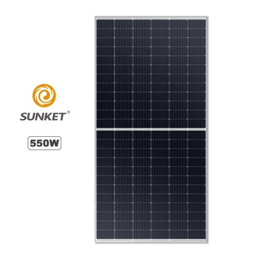 Módulo solar canadiense Panel solar de media celda 550W