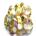 Antique Style Energy Wrap Matel with Crystal Bangle