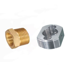 Professional CNC machining works custom cnc turning drilling service cnc brass parts