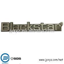 zinc casting chrome plating metal logo