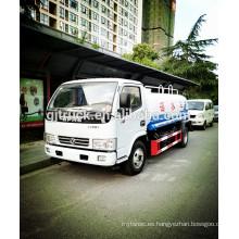 4 * 2 camión de agua de 5000L Dongfeng / camión del agua del bowser / camión de riego / camión del tanque de agua / carro del agua / camión del aerosol de agua / carro del agua
